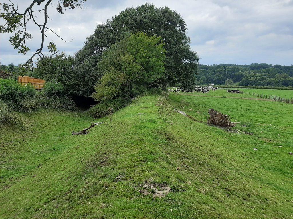 Offa's Dyke in Northern Shropshire near Trefonen village